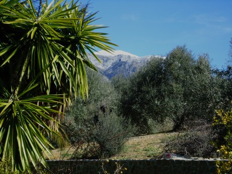 """La Maroma with snow""  © 2011 Giselle Lebrun"